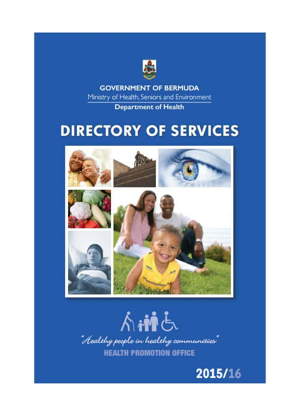 DoH Directory of Services 201516