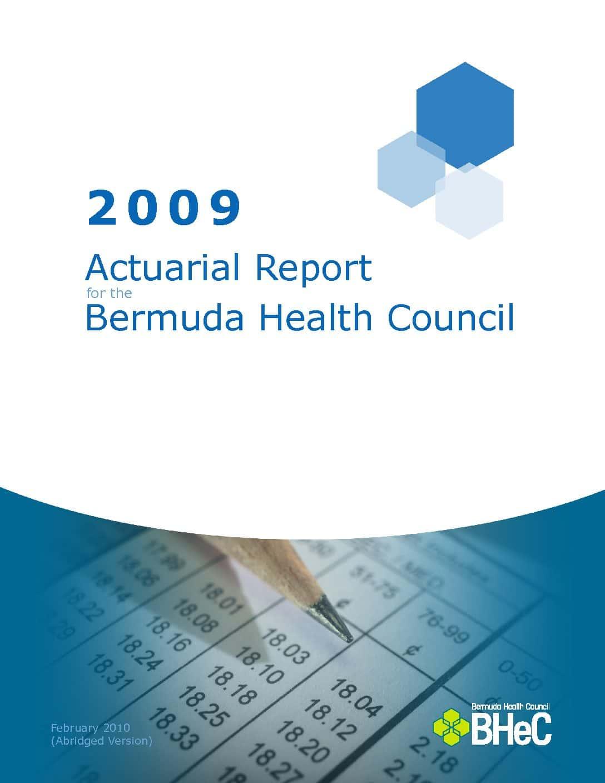 2009 Actuarial Report