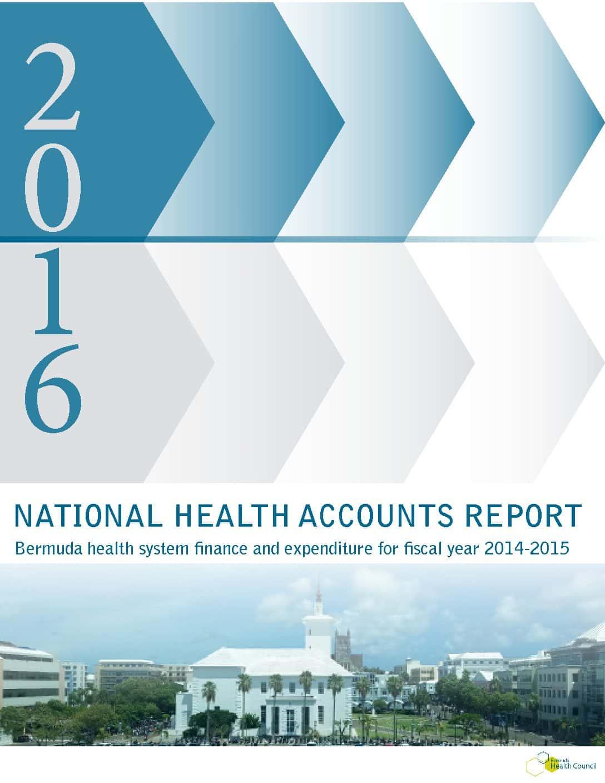 2016 National Health Accounts