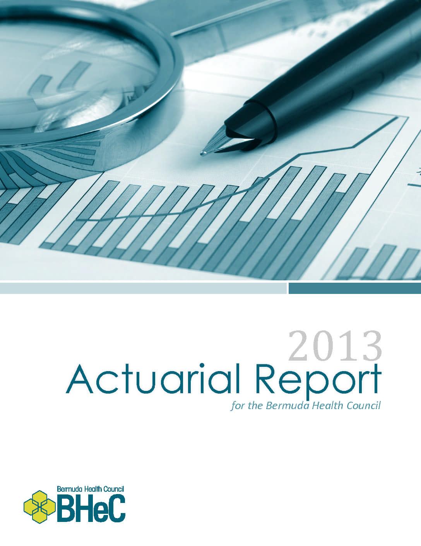 2013 Actuarial Report