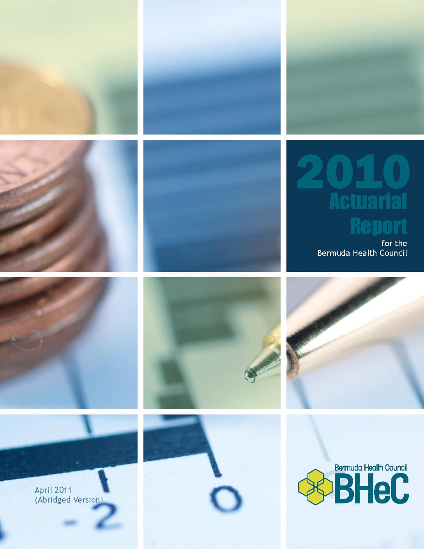 2010 Actuarial Report