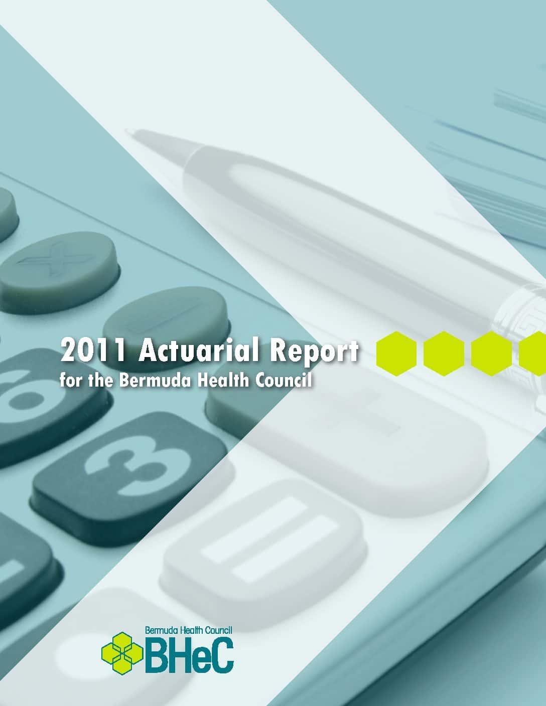 2011 Actuarial Report