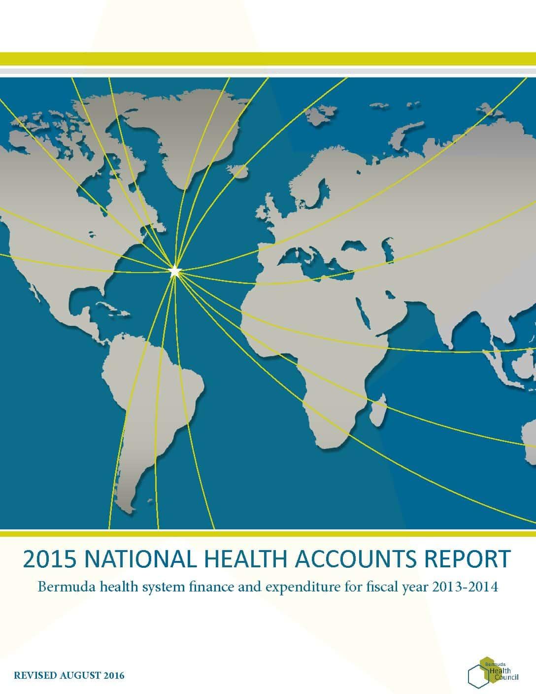 2015 National Health Accounts