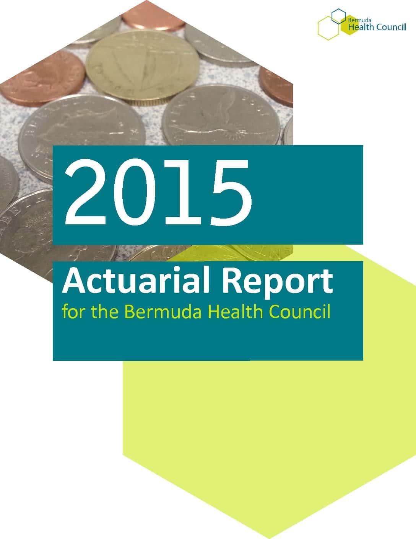 2015 Actuarial Report